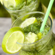 Stock Photo: Fresh mojito cocktail