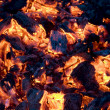 Royalty-Free Stock Photo: Glowing coals background