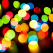Multicolored holiday lights — Stock Photo #1969664