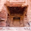 Stock Photo: Fragment of Palace Tomb in Petra