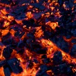 Royalty-Free Stock Photo: Glowing coals