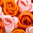 Soap foam roses background — Stock Photo #2135292