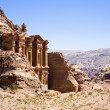 Monastery in Petra — Stockfoto #2135668