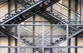 Metal stairs — Stock Photo