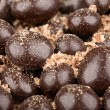 Chocolate balls with crumbs — Stock Photo