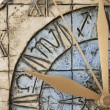 Stock Photo: Clock face close-up
