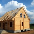 New wooden house — Stock Photo #1736646
