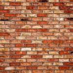 Brick wall - architectural texture — Stock Photo