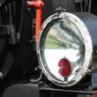 Steam locomotive lamp close-up — Stock Photo