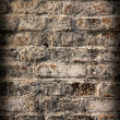 Grunge brick wall background — 图库照片