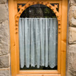 Traditional wooden window — Stock Photo