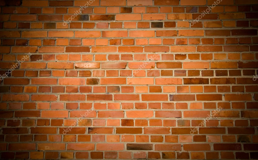 Old grunge brick wall background — Foto Stock #2044997