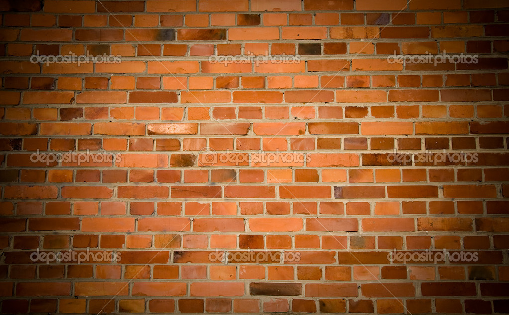 Old grunge brick wall background — Stok fotoğraf #2044997