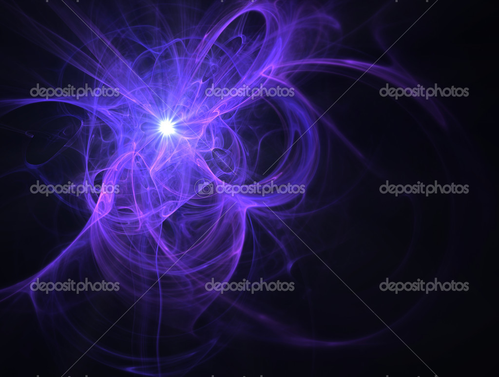 Fractal image of an abstract futuristic star for a background. — Stock Photo #2046472