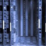 Telephone exchange system — Stock Photo #2361830