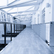 Corridor in office building — Foto Stock