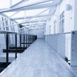 Stock Photo: Corridor in office building
