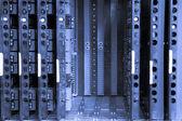 Telephone exchange system — Stock Photo
