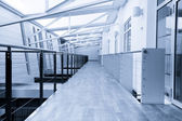 Corridor in office building — Stock fotografie