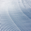 Snow pattern on ski slope — Stock Photo #2527039