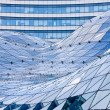Stock Photo: Glass roof in modern building