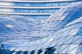 Glass roof in modern building — Stock Photo
