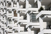 Modern accomodation in city — Stock Photo