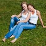 Two girls — Stock Photo #1718851