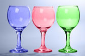 Multi-coloured glasses — Stock Photo