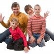 Cheerful family — Stock Photo #1735983