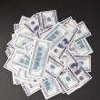 Heap of dollars - Stock Photo