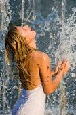 Sıradışı duş — Stok fotoğraf