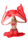 Red wind — Stock Photo