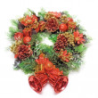 Stock Photo: cristmas wreath