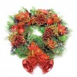 Cristmas wreath - Stock Photo