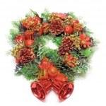 Cristmas wreath — Stock Photo