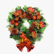 cristmas wreath — Stock Photo