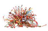 Multi-coloured cords — Stock Photo