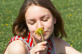 Smell of summer — Stock Photo