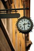 Street Clock — Stock Photo