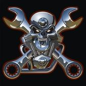 Vector motorhead — Vector de stock