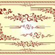 Royalty-Free Stock Векторное изображение: Vector Floral Frame Ornament