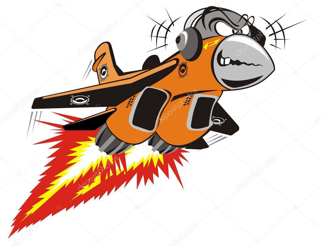 Jet Cartoon