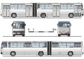 Vector hi-detailed urban bus — Stockvector