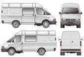 Mini bus — Stock Vector