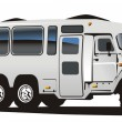 Stock Vector: Vector all terrain bus