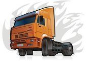 Vector heavy truck — Stock Vector