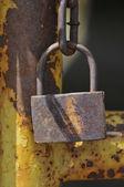 Rusty metal texture background — Stock Photo