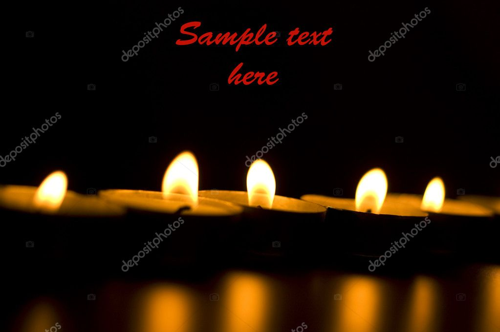 Christmas candles — Stock Photo #1722390