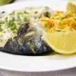 Stock Photo: Fish plate